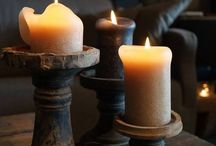 CANDLE LIGHT !!!! / there's nothing like candles to set the mood  / by Patty Hoffert