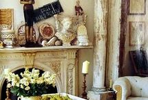 V I N T A G E   D E C O R ... / Vintage treasures in decorating... / by ~Janet Copeland~