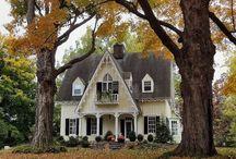C O T T A G E  E X T... / Cute cottage exteriors... / by Janet Copeland