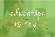 education is key! / Let's all learn more about Celiac Disease, Gluten intolerance and Autism