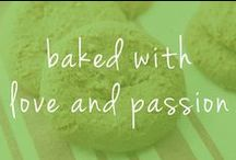 baked with love and passion / all ginnybakes products are a labor of love. We only use the best ingredients and every single product is hand made, bake with love and passion.