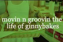 movin n groovin the life of ginnybakes / Life working for our outrageously fun and epicurean conscious gluten free cookie lovin company. Meet the team behind the scenes and in the community. / by ginnybakes