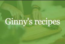 Ginny's recipes / Here are some of Ginny's favorite recipes to make for her family.  / by ginnybakes