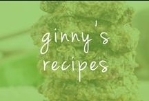 ginny's recipes / ginny's background comes from a passion and love for living and eating healthy. Here are some of her favorite healthy and delicious recipes.