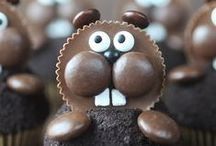 Groundhog Day / Holiday crafts and fun food to celebrate Ground Hog Day