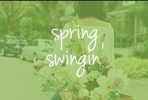 spring swingin' / Let's get into the Spring groove! Who's in?!