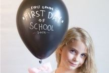Back To School Photo Ideas / Great ways to capture your child's first day of school!