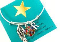 bracelets / handmade glass bead bracelets