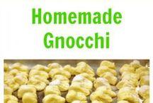 Pasta ~ Gnocchi / by Bonnie Smith