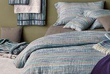 bedroom - blue tones