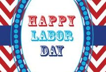 Labor Day Party ~ Nautical / Nautical inspiration for your Labor Day, end of summer celebration.