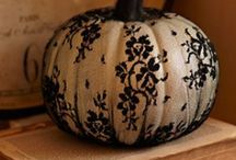 Autumn Decorating / Decor, food and fun ideas for autumn, Thanksgiving and Hallowe'en. / by Cheryl Dinnin