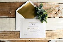 Wedding Invitations / Wedding Invitation Inspiration