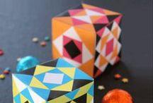 Cute gift box templates!