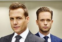 Suits TV Series / Mainly Harvey Specter / Gabriel Macht.