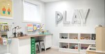 Perfect Playrooms / Playroom ideas and inspiration for organizing and decorating your kid's play room.