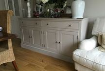 Sideboards. / Sideboards in oak, Pine and Painted woods.  All bespoke and made for each customer.