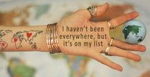 The list of dreams to fulfill ... / The place where I want to be