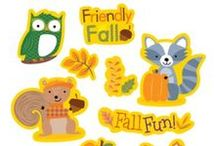 Featured: Fall Classroom Essentials / A collection of all of our fall decorative pieces and items that will help you get ready to celebrate fall in the classroom.