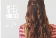 I wish I had long hair to do this / Tutorials and tricks for hair styles, braids, buns, cut, and color