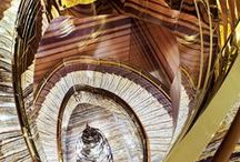 Stairway - Ideas & Inspirations by Natural Area Rugs / Stairways. Amazing flooring designs and beautifull materials.