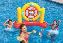 Pool Games / Having fun in the water is easy when you have the right games. At ToySplash, we find all the best pool games out there and bring them to you! / by ToySplash.com