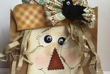 Stampin' Up! Fall / Thanksgiving / Stampin' Up! projects for Fall & Thanksgiving, including cards, decorations and treat bags!