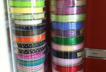 Craft Room Ideas / Great ideas for organizing / storage in your craft room.