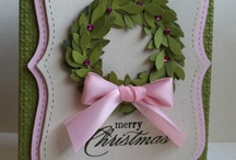 """Breast Cancer Awareness / Each year I have an """"I'm Dreaming of a Pink Christmas"""" Breast Cancer Awareness event in October.  My Stampin' Up! stamp camp is FREE to breast cancer survivors.  Fees from other participants are donated to breast cancer research.  All cards & projects have pink elements."""