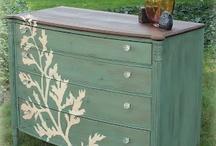 furniture do over / by Marsha Kinder
