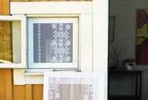 window treatments / by Marsha Kinder