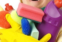 homemade cleaning supplies / by Marsha Kinder