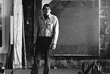Richard Diebenkorn / One of the leaders of the Abstract expressionist movement of the California group.