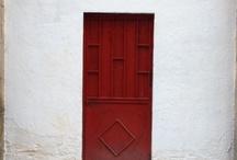 Red doors / by Jo Elsner Kindler