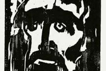 German Expressionist Woodcut Prints