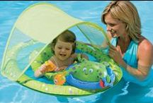 Babies in the pool ;) / Everything baby for pool fun & safety! At ToySplash we want to include pool activities for everyone, right down to the youngest member of the family! Shop ToySplash for the most baby pool gear!! / by ToySplash.com