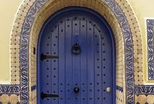 Doors of the World by Natural Area Rugs / Beautiful doors, gates  and entrances....