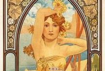 Mucha, Alphonse / Alphonse Mucha / by Terry Faught