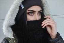 Winter! / Layers on layers! Here you will find lots of fashion forward babes in winter ready outfits and some super cozy iKrush pieces. x