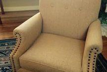 Reupholstered Furniture / Custom Reupholstered Furniture by us.