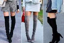 Knee High HOTTIES / The boots of the season are DEFO knee-highs, and we've rounded up the HOTTEST selection for you! <3