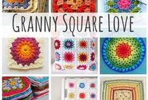 Crochet Beyond the Square class / Crochet granny squares, hexagons, triangles and projects to make with them.