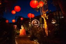 Lunar New Year's Cocktail Party / A Lunar New Year's (Year of the Monkey) celebration at a private home in the hills of Bel-Air, California. Design & Production by David Pressman Events with photography (c) Brian Tropiano Wedding & Lifestyle Photography; Lighting - Peterson Event Lighting; Tent Swaging - Designing Life; Florals - Amy Ha/Blushing Garden; Food - Chris Brugler Catering; Sushi - Kudo Private Dining; DJ - Kid Fish; Rentals - Town & Country; Valet - Valet Of The Dolls; Calligraphy - Jill Velez; Linen - La Tavola