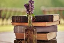 Literary Wedding Ideas & Decor / Wedding decor. Books. Vintage books. Centerpieces. Literary bride. DIY. Book crafts. / by Crystal Nichols