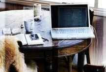 inspiring workspaces / if I could set-up my own office....