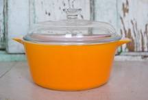 """Vintage Pyrex & Corning Ware / I grew up with Pyrex and Corning Ware and I'm sure I still have some in storage.  I just didn't realize they (we) are """"Vintage"""" :) / by Jenni Stanford"""