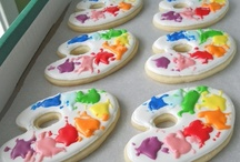 Colorful Cookies / Almost Too Pretty To Eat...Almost. / by Jenni Stanford