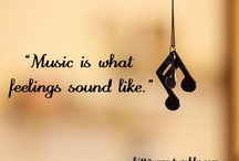 Music / And if the music is good...you dance. / by Christine Stephens Diorio
