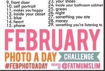 Say Cheese / Photo Challenges / by Lacy McCaig