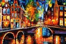 Leonid Afremov and others